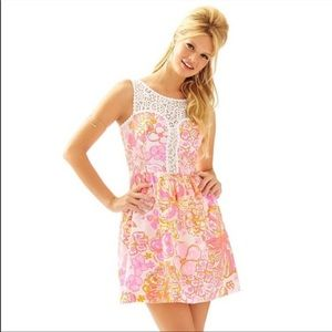 Lilly Pulitzer Pink Floral Raegan Dress 4